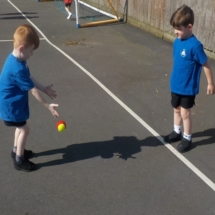 Learning Different Ways to Pass the Ball 1